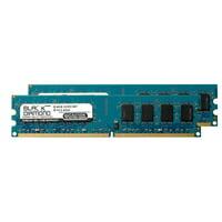 8GB 2X4GB RAM Memory for Asus P5 Series P5G41-M LE/CSM DDR2 DIMM 240pin PC2-5300 667MHz Black Diamond Memory Module Upgrade