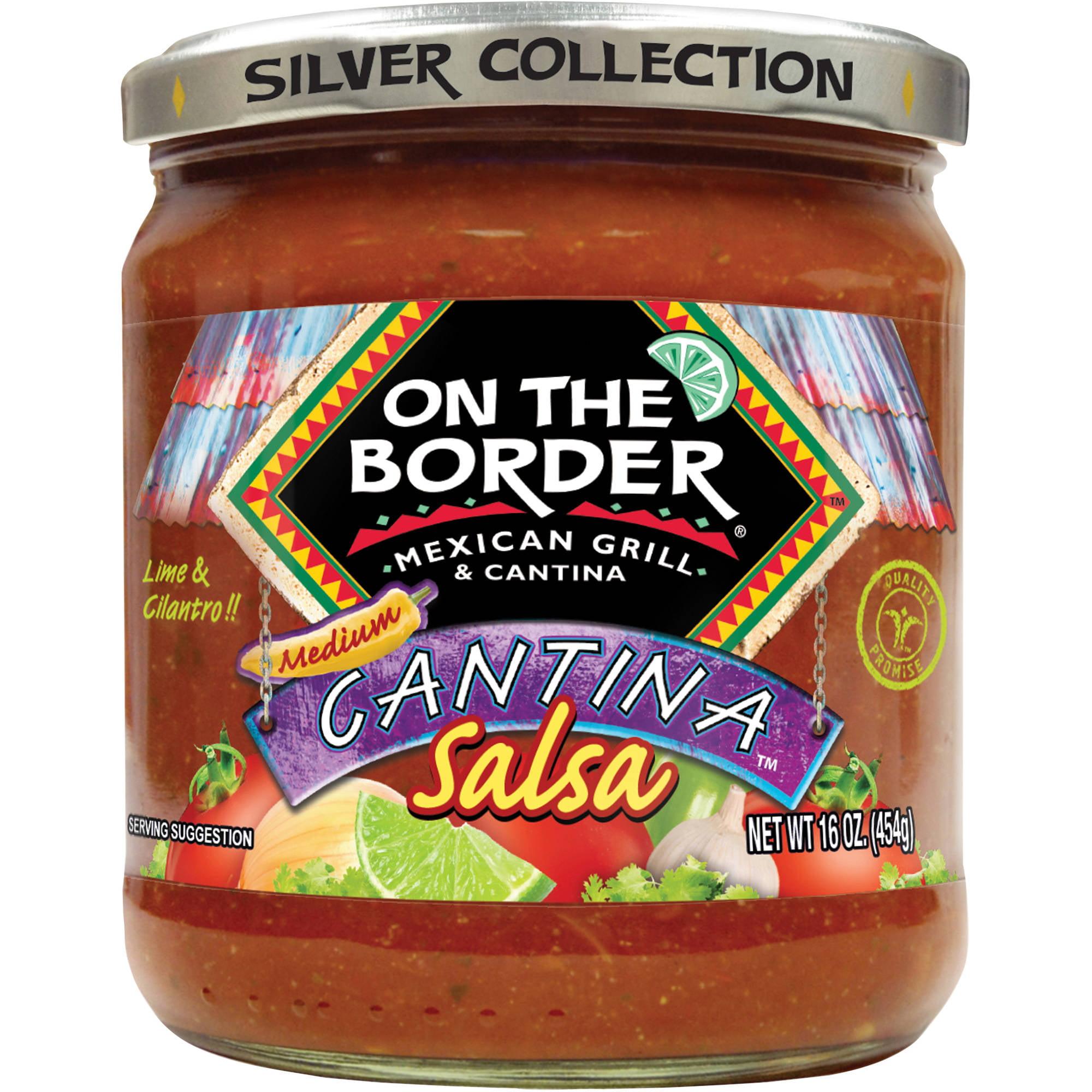 On The Border Cantina Medium Salsa, 16 oz