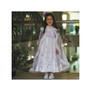Angels Garment Toddler Girls 2T White Lilac Embroidered Occasion Dress