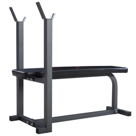 fitness flat bench weight lifting body workout sit up