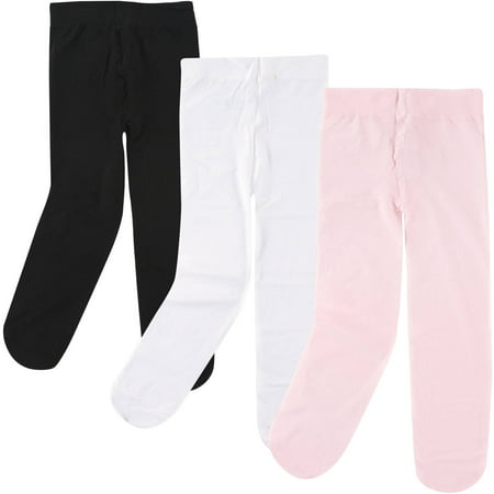 Baby Girl Tights, 3 Pack