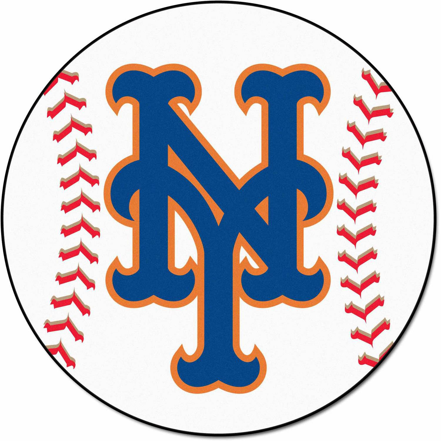 MLB New York Mets Baseball Mat