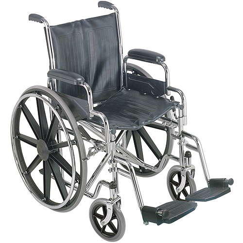 "DMI 18"" Wheelchair with Removable Desk Arms"