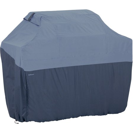 Classic Accessories Belltown Barbecue BBQ Grill Patio Storage Cover, X-Large, Skyline Blue