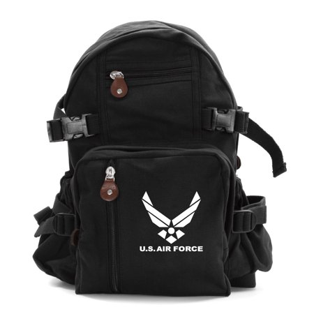 Air Force Bag (United Sates Air Force Emblem Army Sport Heavyweight Canvas Backpack)
