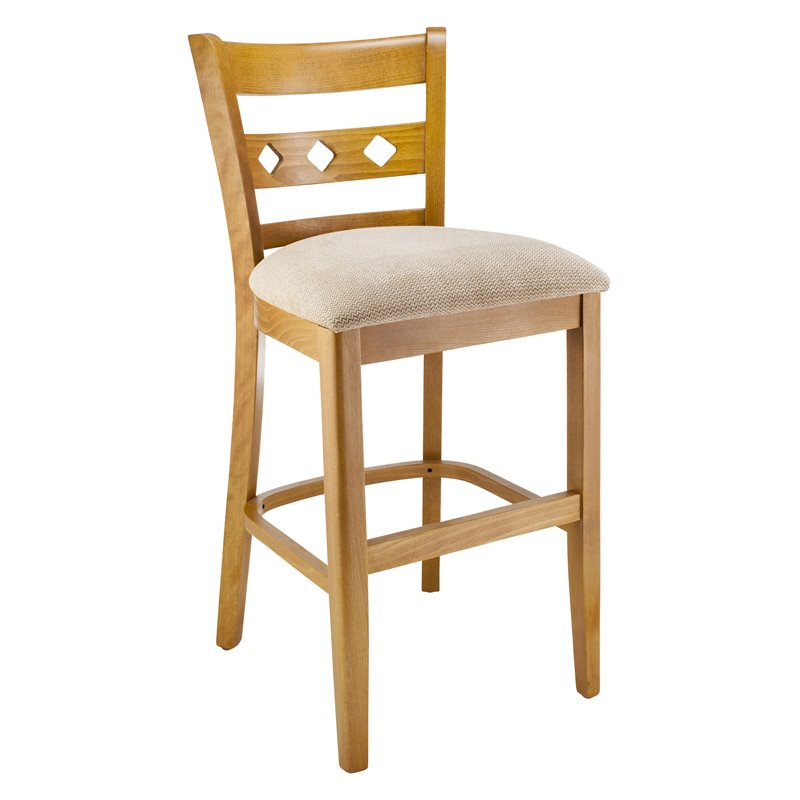 Diamond Back Counter Stool in Cherry