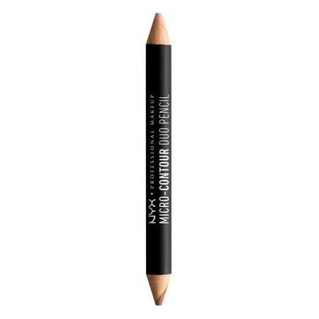 NYX Professional Makeup Micro-Contour Duo Pencil, Medium Deep](Halloween Contouring Makeup)