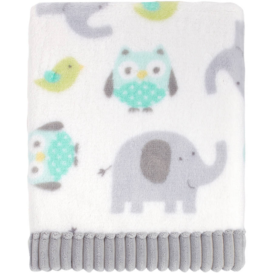 Garanimals Plush Owl Blanket
