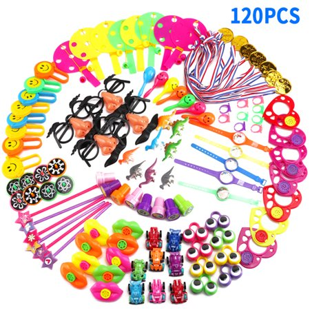 120 Pcs Children's Educational Toys Carnival Prizes Birthday Party Favors Prizes Box - Good Halloween Game Prizes