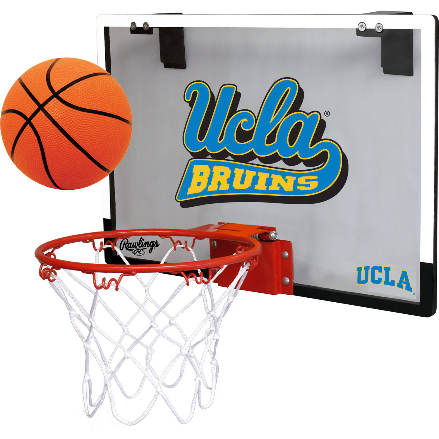 Rawlings NCAA Polycarbonate Hoop Set UCLA Bruins