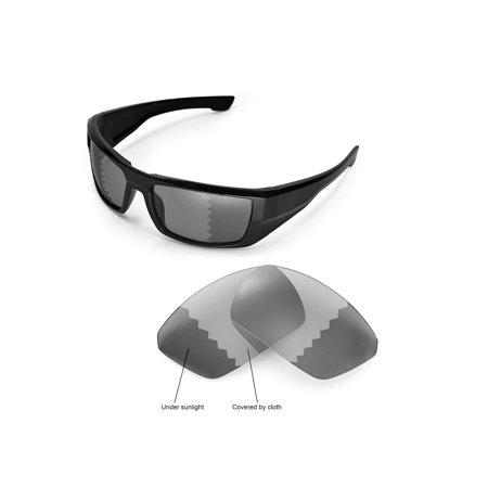 Walleva Transition/Photochromic Polarized Replacement Lenses for Spy Optic DIRK (Spy Dirk Lenses)