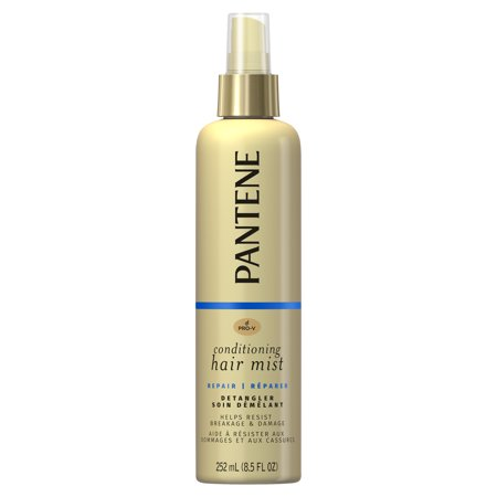 Pantene Pro-V Nutrient Boost Repair & Protect Conditioning Mist Damage Resisting Detangler, 8.5 fl (Best Leave In Conditioner For Color Treated Hair)