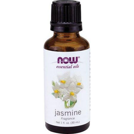 Now Foods Essential Oils, Jasmine Oil, 1 fl oz (30 ml)-2 Pack