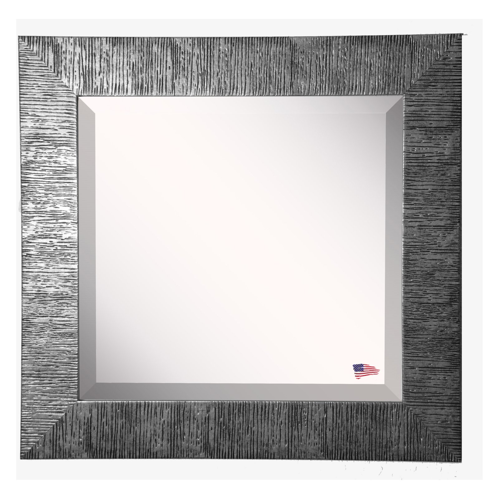 Rayne Mirrors Safari Silver Wall Mirror