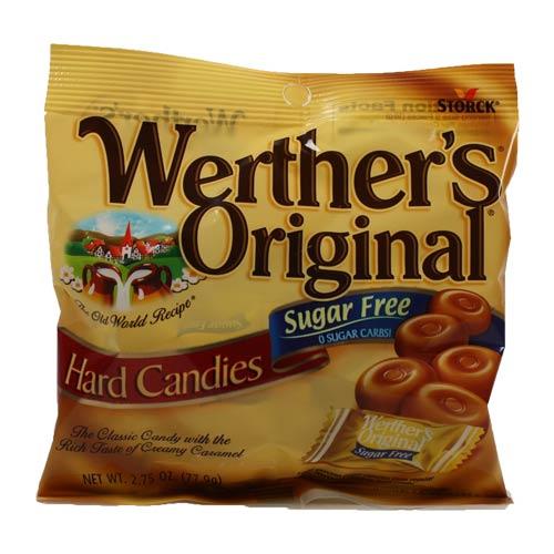 Werther's Original Hard Candies, Sugar Free (Pack of 16)