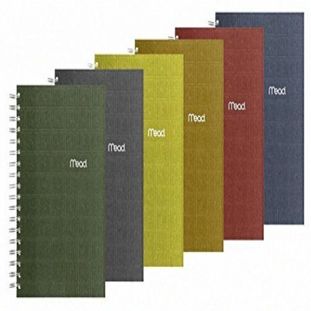 2 pack of mead notebook recycled college ruled 9 5 x 6 inch page
