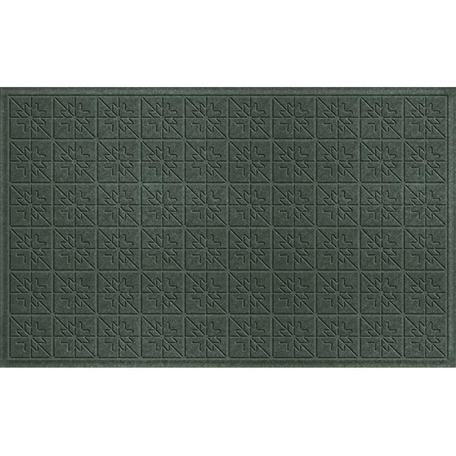 Bungalow Flooring Water Guard Star Quilt Mat in