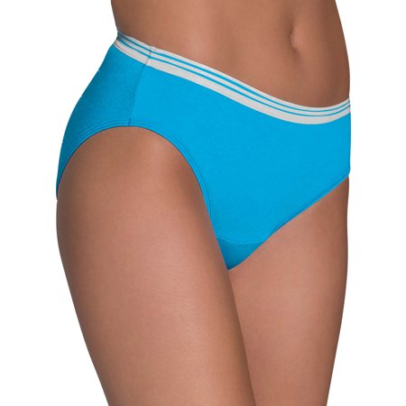 Women's Heather Bikini Panties, 6 Pack