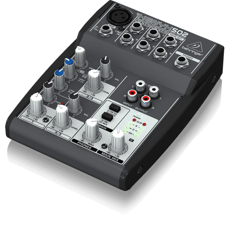 Behringer 502 Premium 5-Input 2-Bus Mixer w/ XENYX Mic Preamp & British EQ Behringer Xenyx 502 Mixer