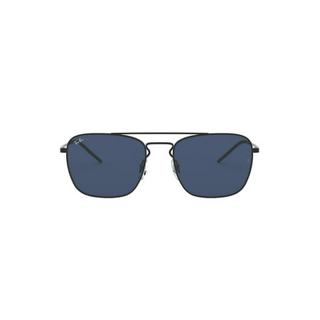 Youngster Square Metal Aviator (Ray Ban Gold Blue Aviators)