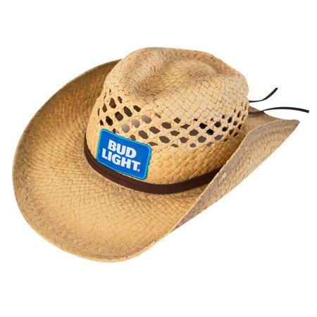Bud Light - Bud Light Straw Cowboy Hat - Walmart.com 14d80cacec6
