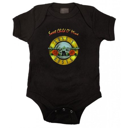 Guns N Roses Sweet Child Baby Bodysuit