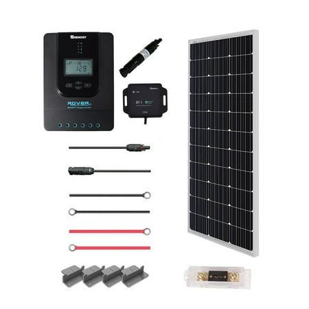 Renogy 100 Watt 12 Volt Off Grid Solar Premium Kit With
