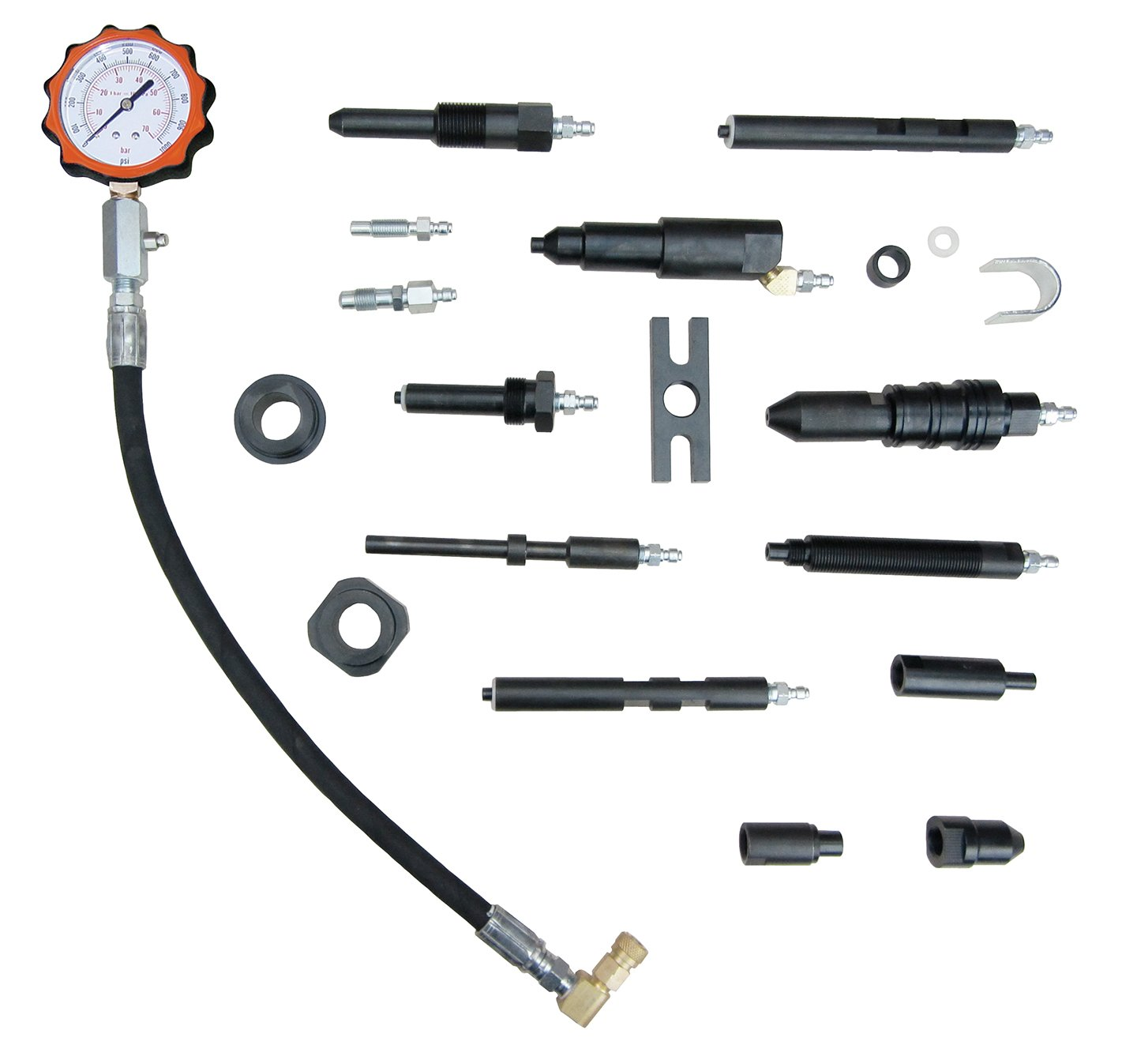 Star Products TU-15-70 Diesel Compression Test Set With Tester And Adapters