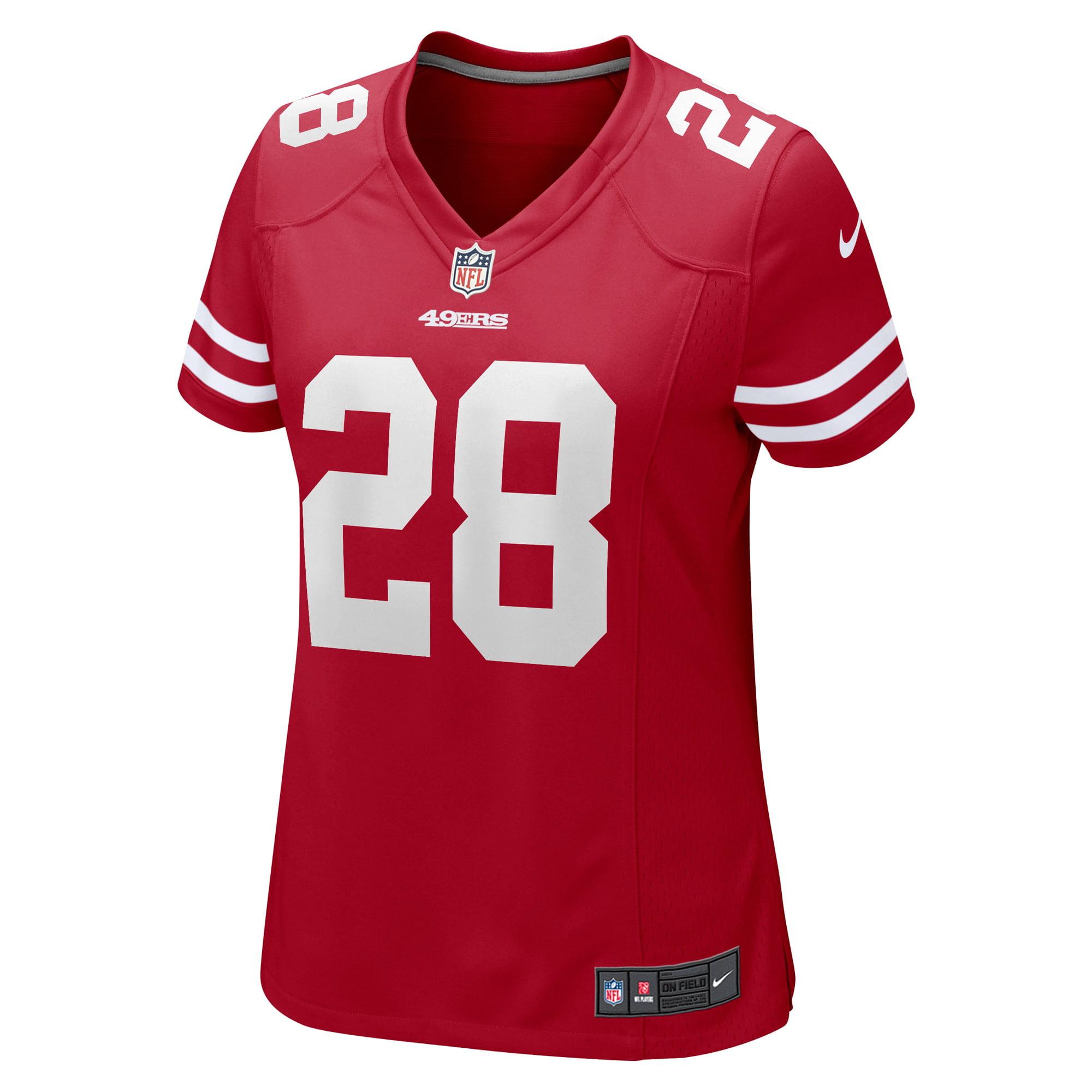 Jerick McKinnon San Francisco 49ers Nike Women's Game Jersey - Scarlet