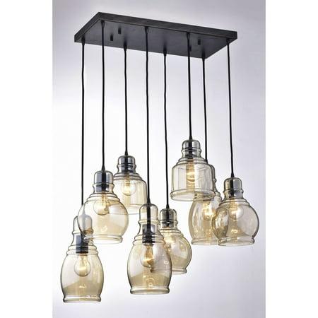 Allen Antique Lighting - Oliver & James  Yinka Antique Glass Pendant Lights