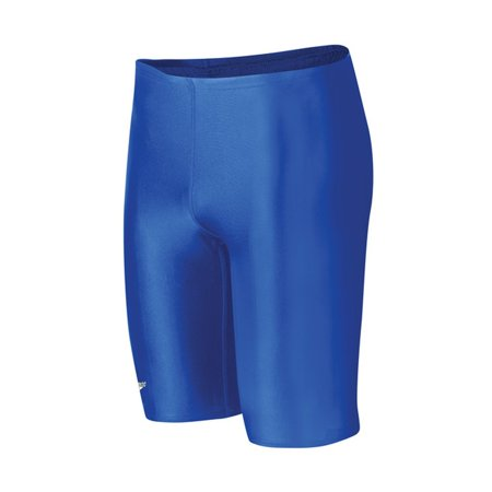 Core Solid Jammer (Youth) Blue 24, Constructed from LYCRA XTRA LIFE fiber that: By Speedo