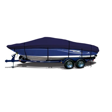 SavvyCraftV-hull Runabouts Bowrider Trailerable Boat Cover Fits 22'-24'L Beam width 116