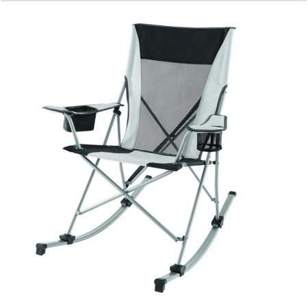 Ozark Trail Tension Camp 2 in 1 Rocking Chair, White