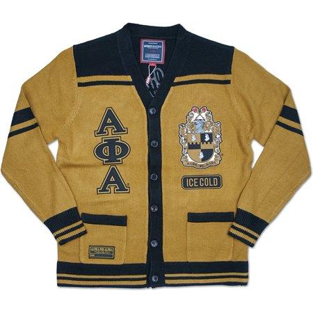 Big Boy Alpha Phi Alpha Divine 9 S5 Mens Sweater [Gold - M]