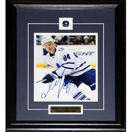 Midway Memorabilia Mikhail Grabovski Toronto Maple Leafs Signed 8X10 Frame by