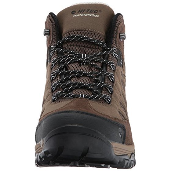 separation shoes d50aa 29f36 hi-tec men's riverstone ultra waterproof hiking boot, smokey  brown/olive/snow, 12 d us