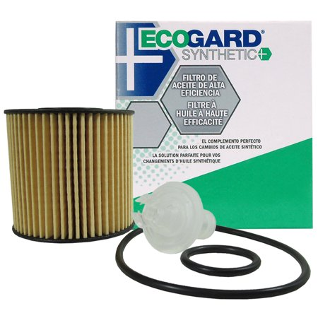 ECOGARD S5608 Cartridge Engine Oil Filter for Synthetic Oil - Premium Replacement Fits Toyota Camry, RAV4, Sienna, Highlander, Avalon, Venza, Tacoma / Lexus RX350, ES350, RX450h, ES300h,