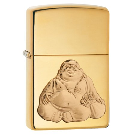 Zippo Leather Lighter Pouch (Zippo Laughing Buddha Lighter)