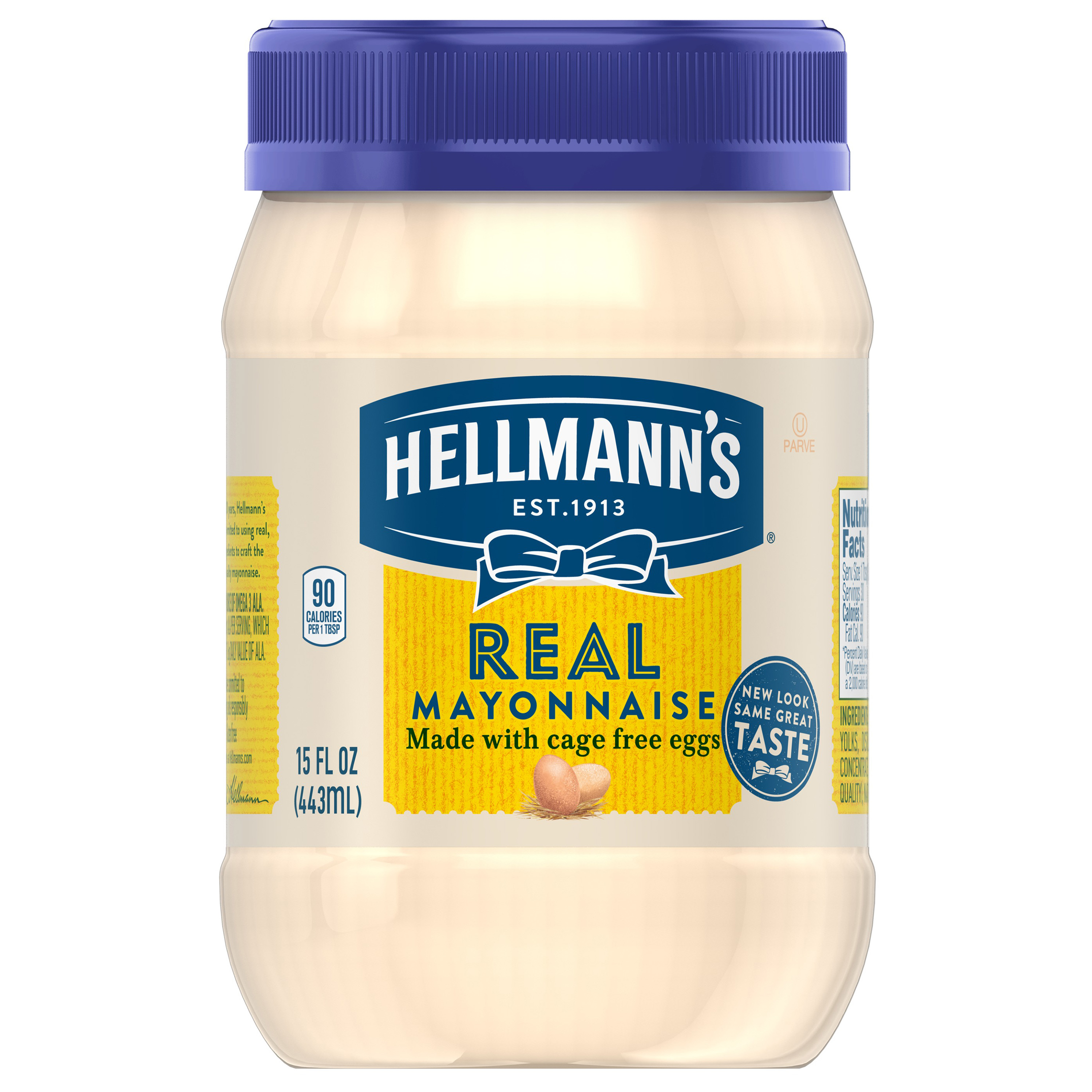 Hellmann's Real Mayonnaise, 15 oz