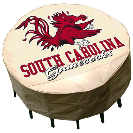 NCAA Mr. Bar-B-Q Round Table Cover, University of South Carolina Gamecocks