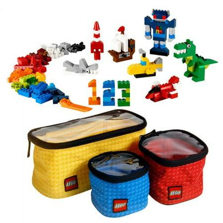 LEGO Organizer Cubes & BONUS Classic Creative Supplement Set - Clearance Lego