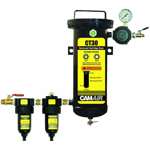 DeVilbiss 130522 CAMAIR CT Plus_ 5-Stage Filtration System