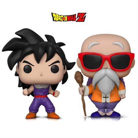 Warp Gadgets Bundle - Funko Pop Animation Dragonball Z - Gohan (Training Outfit) & Master Roshi W/ Staff (2 Items) (Dragonball Outfit)