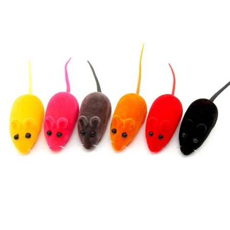 Outtop 3 pcs Hot Sale Fun Toy Little Mouse Realistic Sound Toys For Cats For Pet Cat](Mice Sounds)