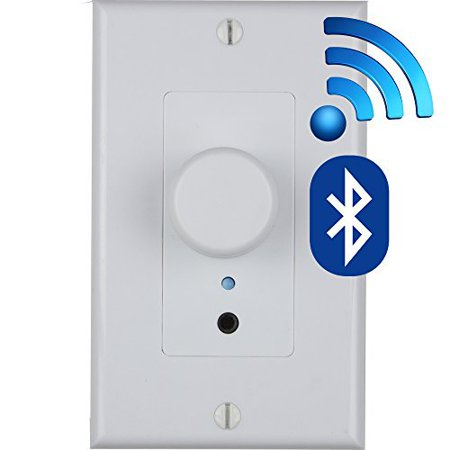 Bluetooth Volume Control - Built in CLASS D Amplifier Wireless (Best Class A Amplifier In The World)