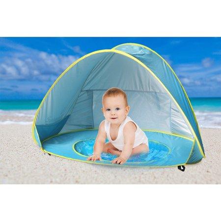 Baby Beach Tent Umbrella Sunbayouth Pop Up UV Protection Sun Shelter Pools