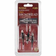 Allen Power Point Chisel 85-Grain Broadheads, 3-Pack