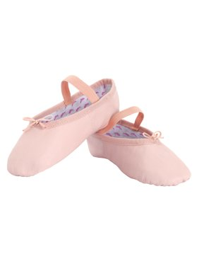 """Girls """"Princess"""" Full Sole Leather Ballet Shoes"""