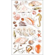 Sticko Stickers-Seashells & Sand