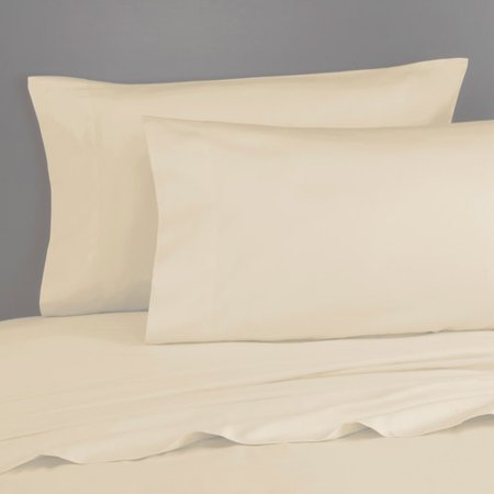 Royale Home 300-Thread-Count Cotton Sateen Pillowcases, Set of 2